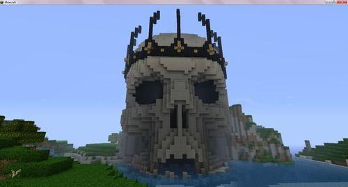 minecraft skull ☺ ☺