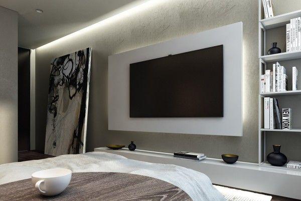 Cool White Bedroom