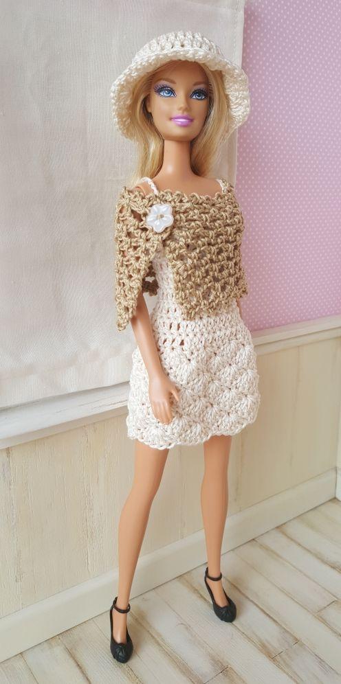 """Je vous présente aujourd'hui l'ensemble """"Belinda"""" pour poupée mannequin de 30 cm de type Barbie La..."""