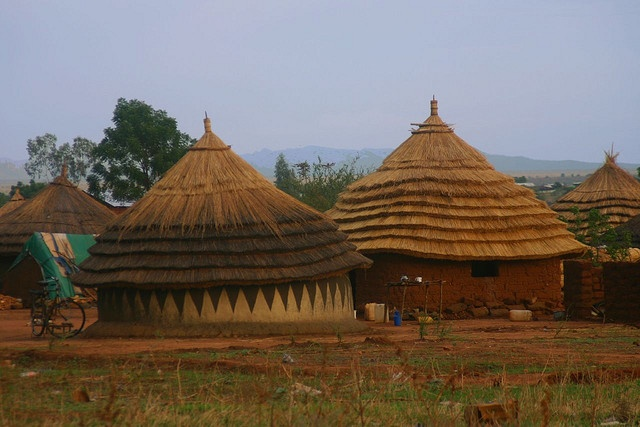 Africa   Traditional housing. Juba, South Sudan.   © Lindsay Stark