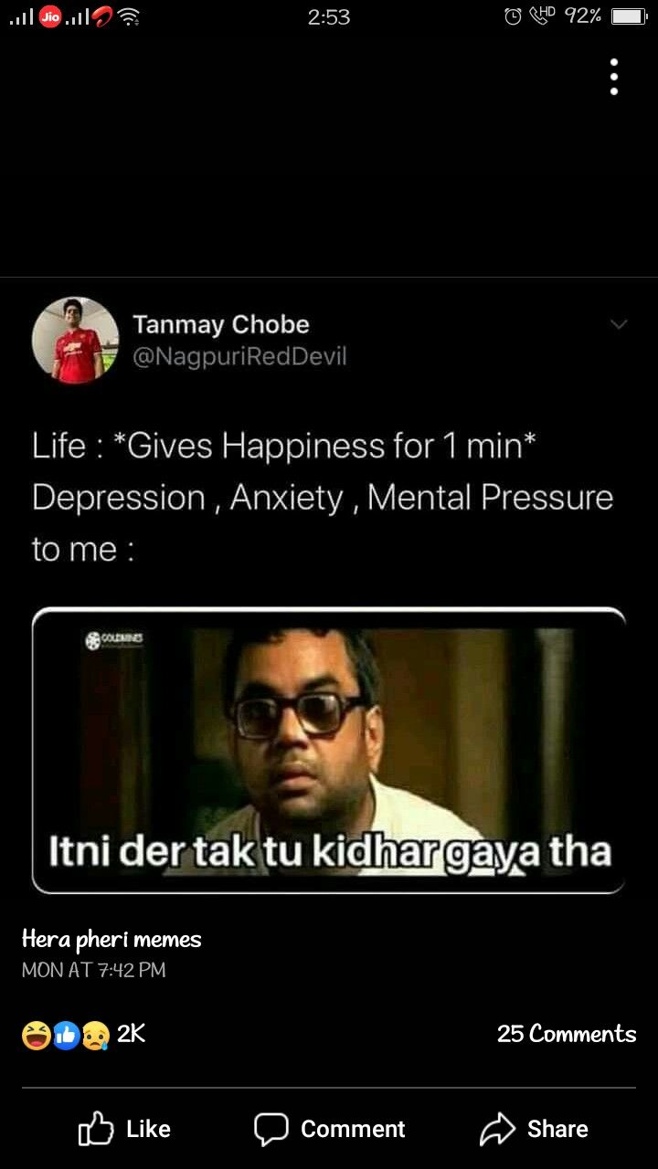 Pin By Sakshi Jadhav On Hera Pheri In 2020 Fun Quotes Funny Funny Quotes Best Quotes