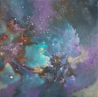 "Saatchi Art Artist Aria Dellcorta; Painting, ""Revelation"" #art #abstract #saatchiart #new #energizers #soul #fineart #painting #artforsale #academicart #originalart @ariadellcorta"