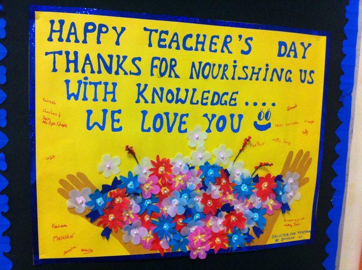 handmade card for teachers day - Bing images
