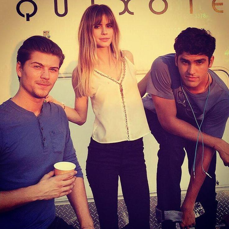 Kieran(Amadeus Serafini), Brooke(Carlson Young) and Jake(Tom Maden) #scream