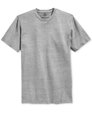 American Rag Men's Solid Tri Blend Big & Tall T-Shirt, Only at Macy's - Gray 2XB