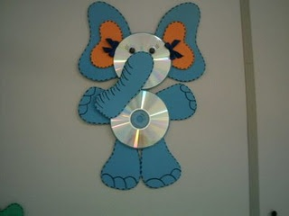 I would probably paint the CD's too?