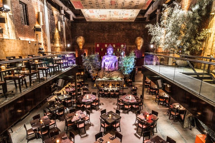 Asian style and food temple in NY...  Tao Restaurant in New York