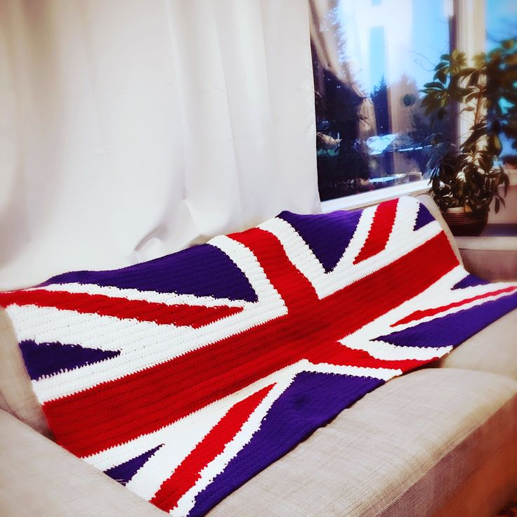 British flag blanket decorates your home sweet home