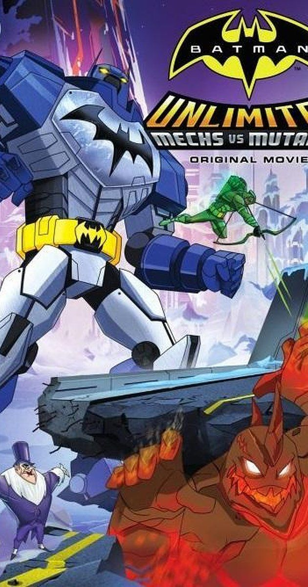 Directed by Curt Geda.  With Carlos Alazraqui, Troy Baker, Chris Diamantopoulos, John DiMaggio. The Dark Knight is back doing what he does best - protecting the citizens of Gotham City - in the third installment of the Batman Unlimited series, Batman Unlimited: Mechs vs. Mutants. When evil scientist Mr. Freeze activates his latest invention on two of Gotham City's most formidable criminals - Killer Croc and Bane - things go from bad to worse. Turning them into super-sized mutant monsters,...
