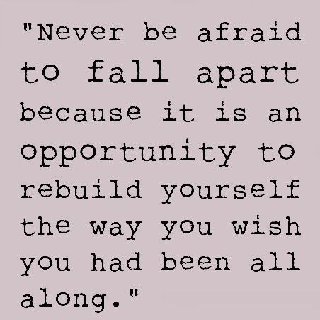 Never be afraid: Inspiration, Life, Quotes, Truth, So True, Thought, Falling Apart, Rae Smith