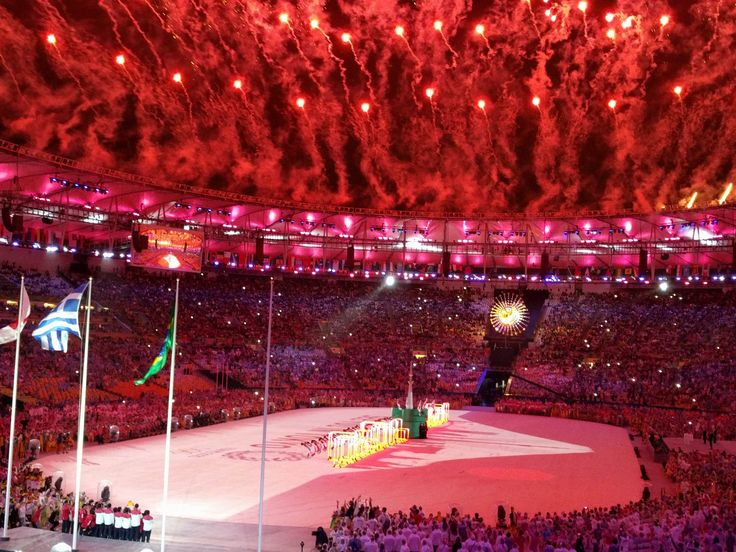 All the action from the Olympics Closing Ceremony and Day 16