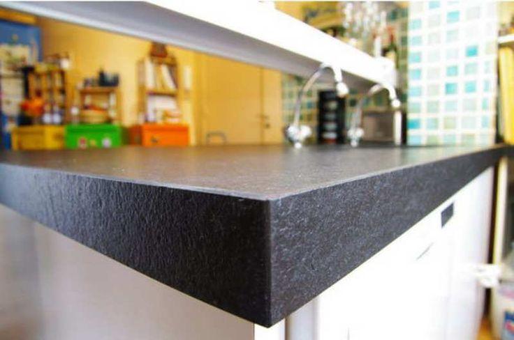 M s de 25 ideas incre bles sobre encimeras de granito for Granito negro brillante