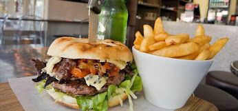 Burger Bar - Award winning Burgers Great burgers made to order with the choice of alfresco dining or takeaway. So popular with locals which says heaps ...  photo credit http://www.theburgerbar.com.au posted by www.beachhousenoosa.com  #burgerbarnoosa   #takeawaynoosa  #wheretoeatnoosa