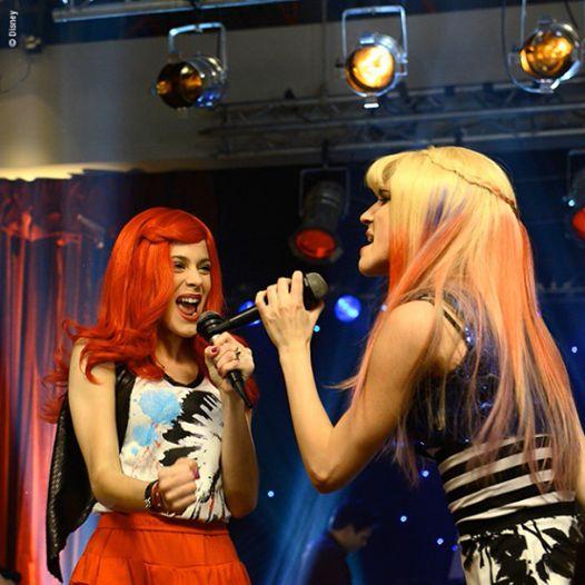Roxy (Violetta) y Fausta (Fran)