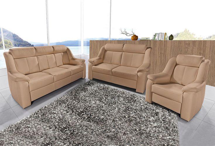 sit&more Set: 3-Sitzer + 2-Sitzer + Sessel Jetzt bestellen unter: https://moebel.ladendirekt.de/wohnzimmer/sofas/2-und-3-sitzer-sofas/?uid=cd284c26-f41c-592e-b941-e3320322a9bf&utm_source=pinterest&utm_medium=pin&utm_campaign=boards #polstergarnituren #sofas #3sitzersofas #wohnzimmer Bild Quelle: baur.de