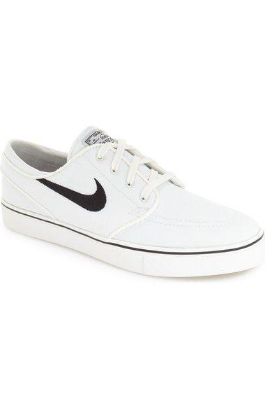 NIKE 'Zoom - Stefan Janoski SB' Canvas Skate Shoe. #nike #shoes #