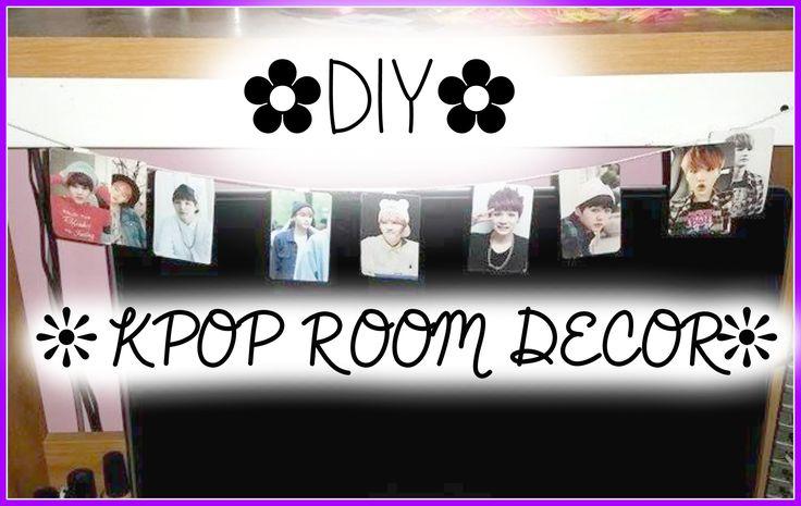 DIY  Kpop Room Decor  kpop crafts and ideas  Room Decor