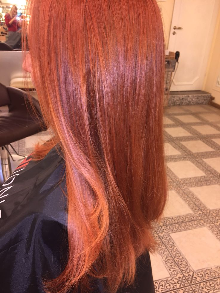 Cuper hair color