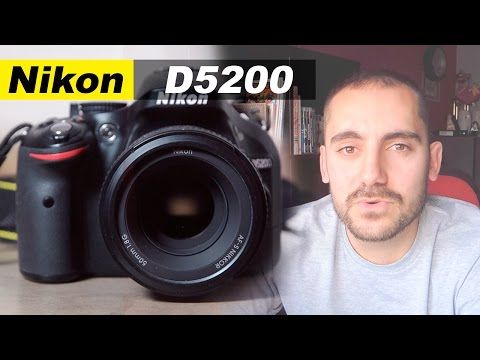 Nikon D5200 - Review en Español - YouTube