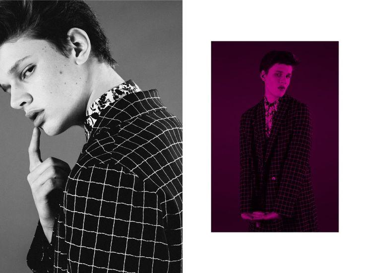 joao wears coat christian pellizzari shirt department 5 and shorts les hommes