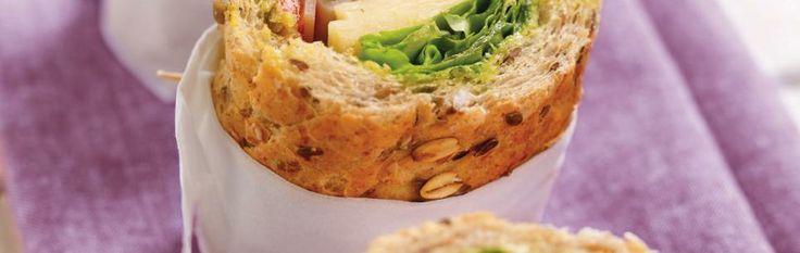 Grov Sandwich med Norvegia