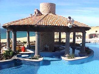 pueblo bonito sunset beach - swim up bar...love it.
