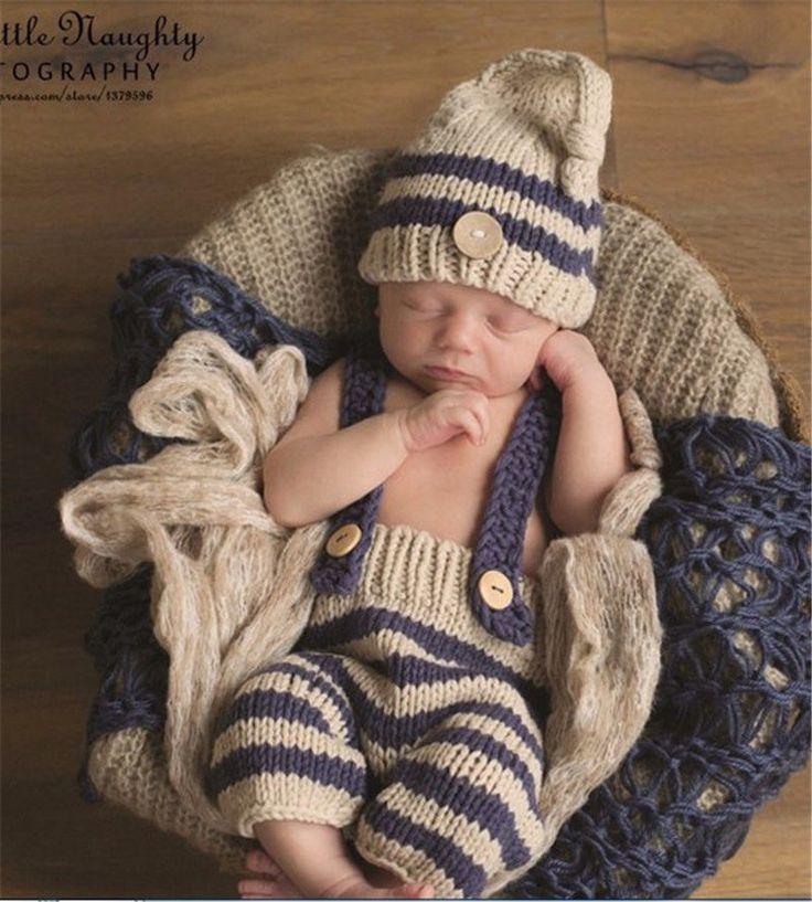 Details about Newborn Baby Boys Crochet Knit Hat Infant ...