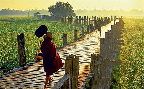 Burma tour: a sleeping beauty awakes - Telegraph