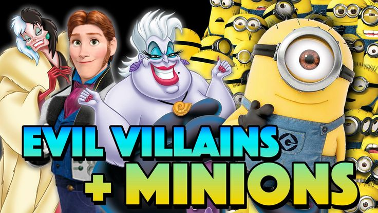 Minions & Evil Villains | Which Evil Villain Should Each Minion Serve?