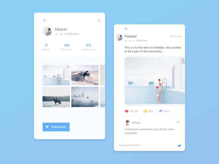 Hello Dribbble by Huang #Design Popular #Dribbble #shots