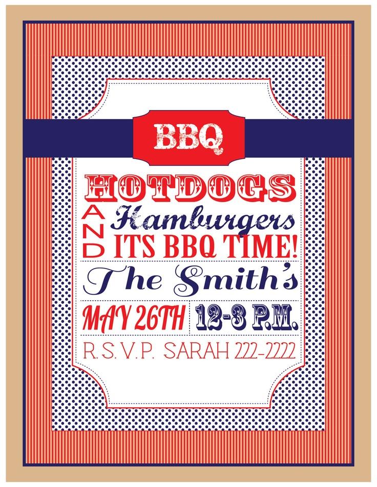 Invitations Template Housewarming PartyInvitation TemplatesBackyard Bbq