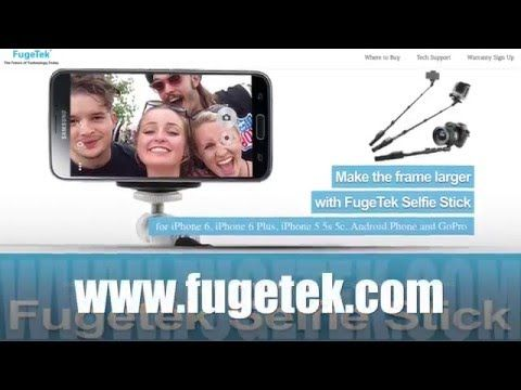 FUGETEK Selfie Stick PROMO Fugetek FT-568 RATED #1 PROFESSIONAL SELFIE STICK ON AMAZON in 2016. Black, All Aluminum, High End, Luxurious Design - Doesn't look cheap! #selfie #selfiestick Buy at Amazon via: http://levisatamazon.wix.com/selfie-stick