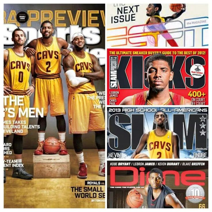 Kyrie Irving LeBron James and Kevin Love. Nike ShoxNike ...