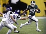 Buffalo Wild Wings Bowl: Michigan State #Spartans over TCU #HornedFrogs 17-16.