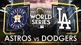 Houston Astros vs. LA Dodgers 2017 World Series Game 1 Highlights | MLB