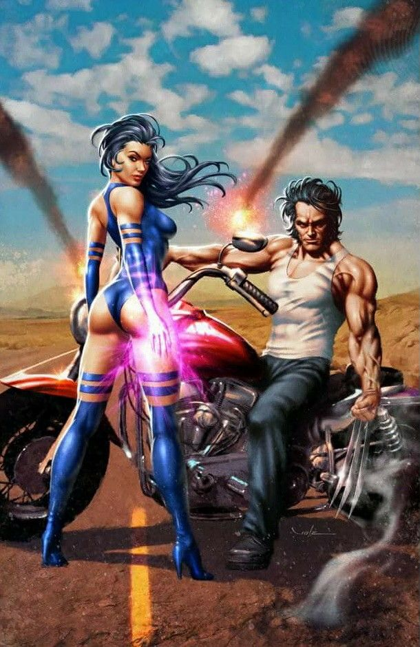 Psylock & Wolverine