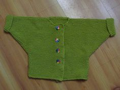 Knitted One-Stitch Baby Sweater #20289 by LionBrand - *pattern*
