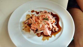 Chef Ney Agostinho: Avuado (Ceviche de pirarucu / paiche)IngredientesP...