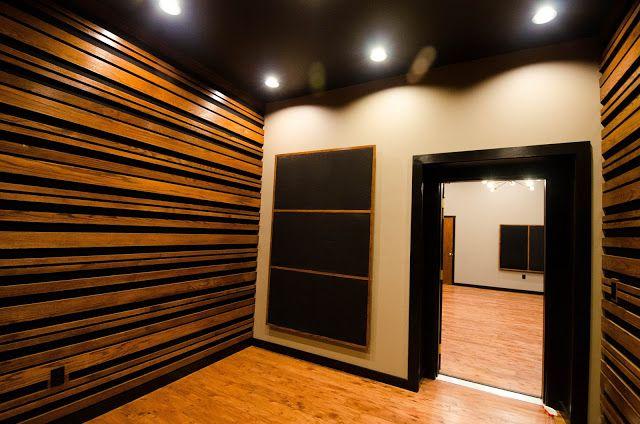 #wood #recording #studio