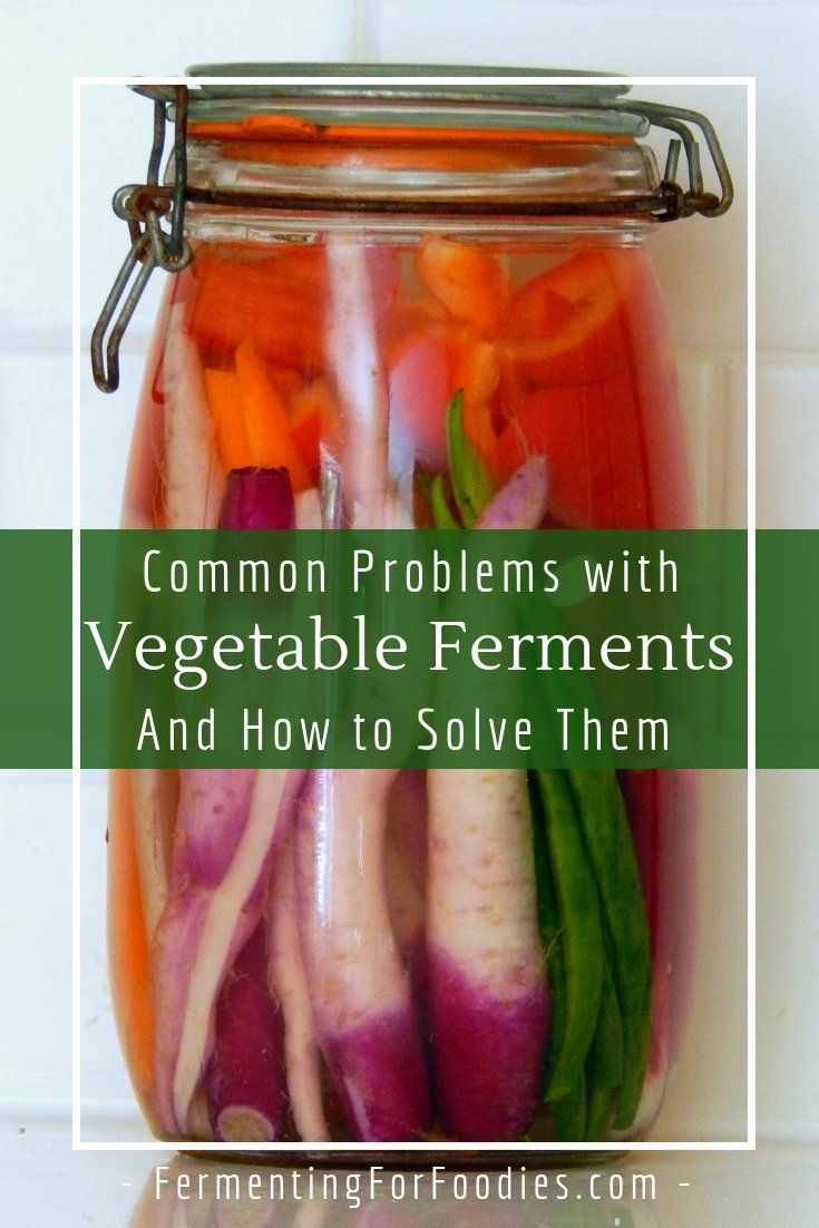 Fermentation Problems And How To Solve Them Fermenting For Foodies Fermentation Recipes Fermented Veggies Healing Recipes