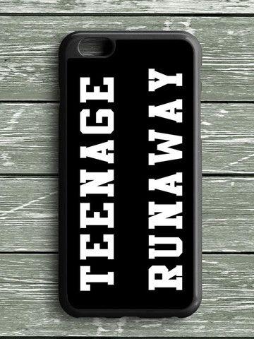 Black White Teenage Runaway iPhone 6S Plus Case