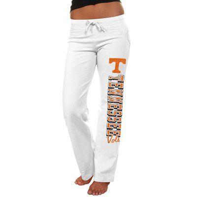 Tennessee Volunteers Women's Frosh Fleece Sweatpants - White