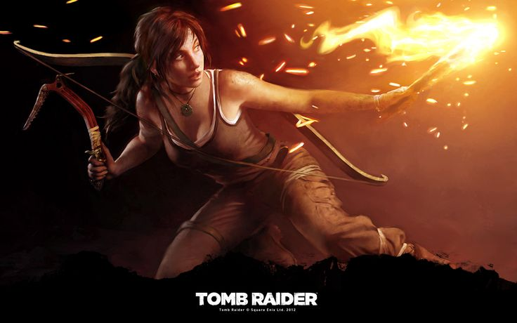 Fond d'ecran Tomb Raider - PC