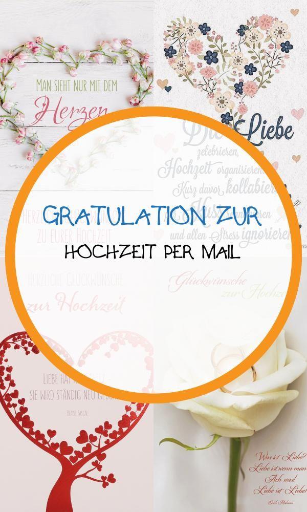 Best 20 Gratulation Zur Hochzeit Per Mail