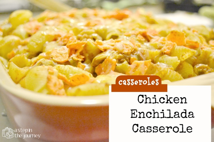 {Spicy} Chicken Enchilada Casserole