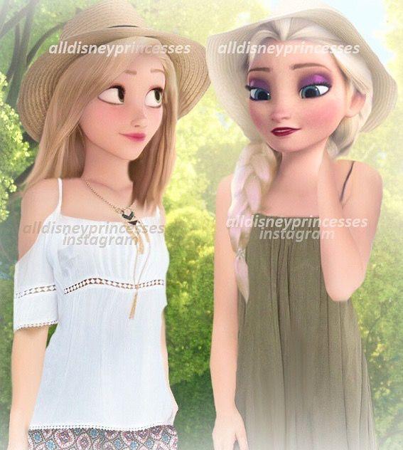Elsa et Raiponce