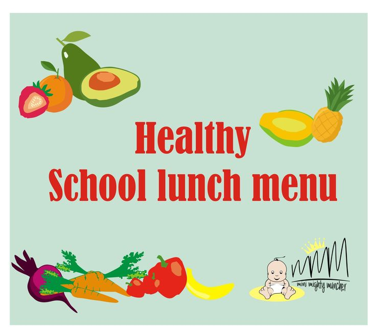 School Lunch Menu | minimuncher School Lunch & Boxes