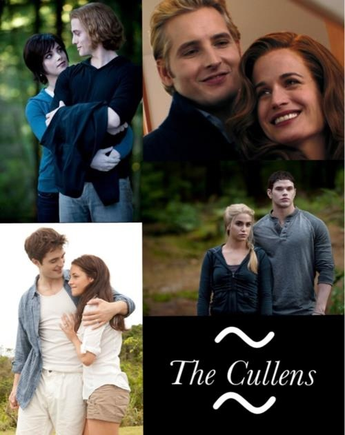 "Looking forward to meeting ""The Cullen's"""