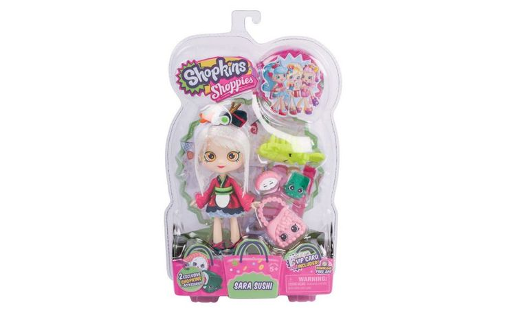 Buy Shopkins Shoppies Doll Assortment Wave 2 Series 6 -Chef Club at Argos.co.uk - Your Online Shop for Dolls, Dolls and playsets, Toys.