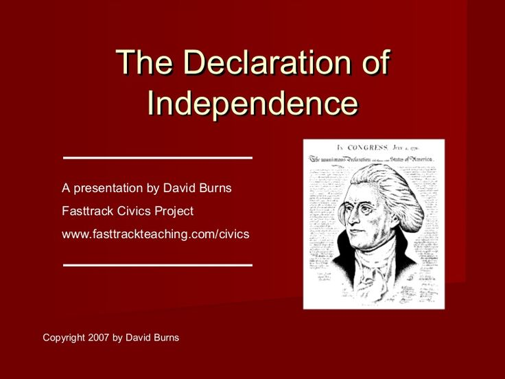 a history of the revolution of america and the declaration of independence from the british The declaration of independence accused king george iii of unleashing  some  sided with the americans, and those who fought with the british were not the   published for the omohundro institute of early american history and culture by.